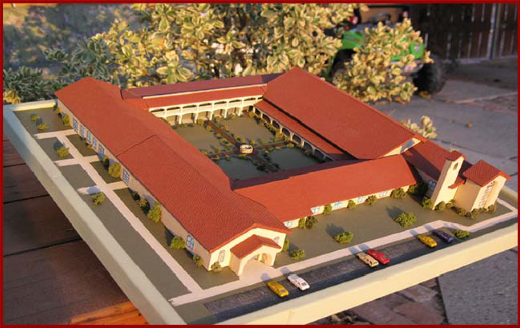 3d model of Holy Spirit Retreat and Renewal Center